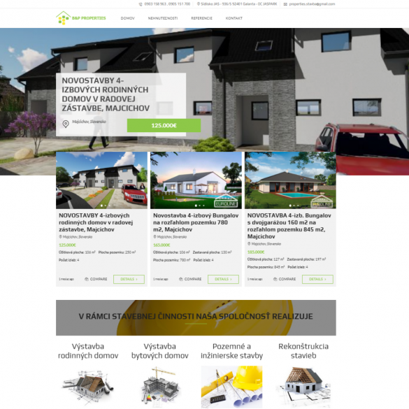 Tvorba webových stránok, eshopov a iných web aplikácii , úprava grafiky | webstránka | eshop | webstránky | eshopy | bp properties | tvorba web stránok