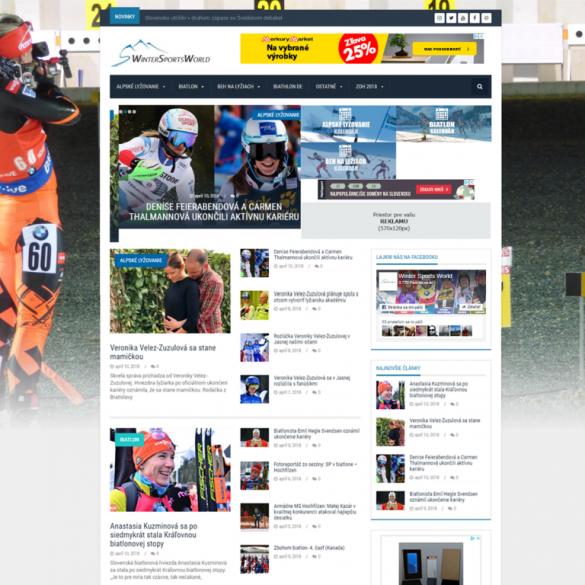 Tvorba webových stránok, eshopov a iných web aplikácii | webstránka | eshop | webstránky | eshopy | wintersportsworld | tvorba web stránok