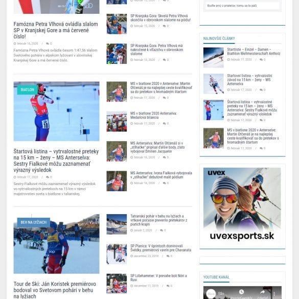 tvorba webových stránok - wintersportsworld.sk | webstránka | webstranka| webstránky | webstranky