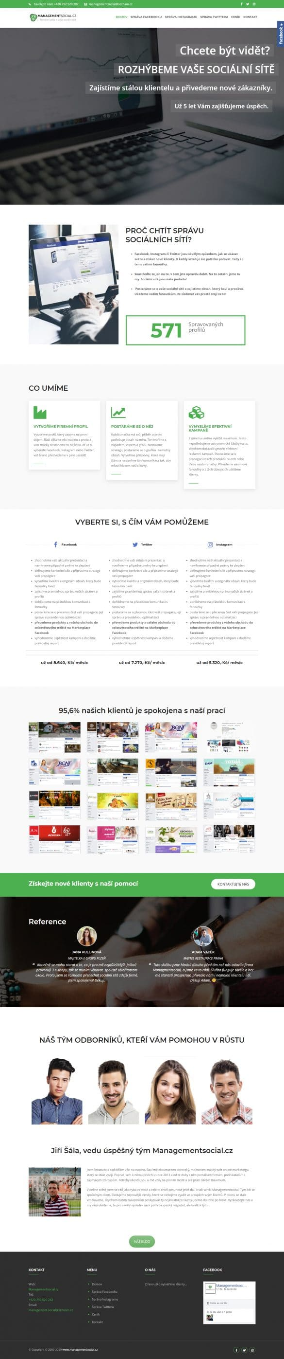 Tvorba webových stránok - managementsocial.cz | webstránka | webstranka| webstránky | webstranky