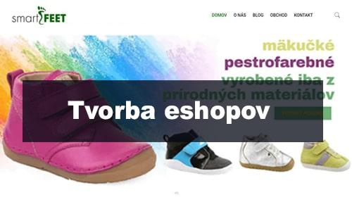 Tvorba eshopu - smartfeet.sk | webstránka | webstranka | webstránky | webstranky